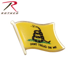 Rothco 1676 Rothco Don't Tread On Me Flag Pin