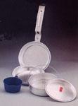 Rothco 167 +rothco 5pc Mess Kit / Aluminum