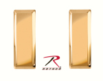 Rothco 1700 2nd Lieutenant Insignia / Polished Gold
