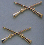 Rothco 1751 Officer's Infantry Pin