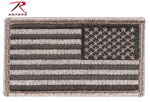 Rothco 17779 Foliage Reverse American Flag Patch With Hook & Loop