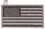 Rothco 17780 Foliage American Flag Patch With Hook & Loop