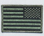 Rothco 17788 Reverse SuBDUed U S Flag Patch