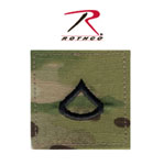 Rothco 1792 Multicam Private First Class Insignia