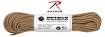 Rothco 181 Rothco Nylon Paracord 550lb 100 Ft / Tan