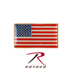 Rothco 1867 Rothco Classic Rectangular Us Flag Pin