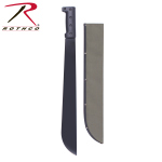 Rothco 1919 Rothco Bush Pro Steel Machete w/Sheath