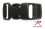 Rothco 204 5/8'' Black Side Release Buckle