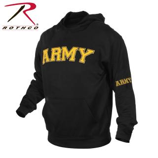 Rothco 2055 2055 Rothco Army Pullover Hoodie-Black