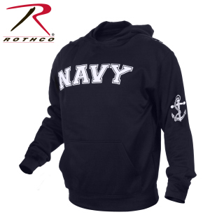 Rothco 2058 2058 Rothco Navy Pullover Hoodie-Navy Blue