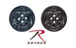 Rothco 206 Rothco Peacoat Buttons - 25/Bag