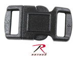 "Rothco 209 3/8"" Black Side Release Buckle"