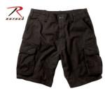 Rothco 2132 2132 Rothco Vintage Cargo Short - Black