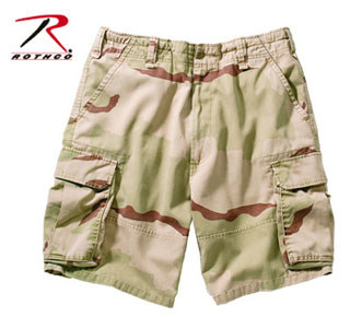 Rothco 2151 2151 Rothco Vintage Cargo Short - Tri Color Camo
