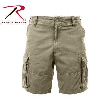 Rothco 2171 2171 Rothco Vintage Cargo Short - Khaki
