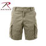 Rothco 2172 2172 Rothco Vintage Cargo Short - Khaki