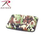 Rothco 22100 Rothco Aluminum Wallet - Woodland Camo