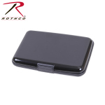 Rothco 22101 Rothco Aluminum Wallet - Black