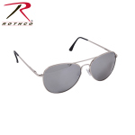Rothco 22109 Rothco 58mm Polarized Sunglasses - Chrome/Mirror