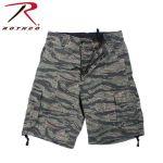 Rothco 2215 2215 Rothco Vintage Infantry Utility Shorts-Tiger Stripe