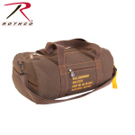 Rothco 22335 Rothco Canvas Equipment Bag - Earth Brown / 19''