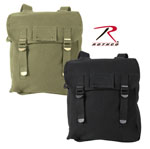 Rothco 2270 2270 Rothco Heavyweight Canvas Musette Bag - Olive Drab/Black