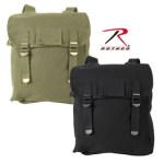 Rothco 2274 2274 2270 Rothco Heavyweight Canvas Musette Bag - Olive Drab/Black