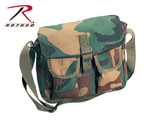 Rothco 2276 Rothco Canvas Ammo Shoulder Bag - Woodland Camo