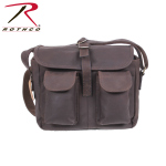 Rothco 22770 Rothco Brown Leather Ammo Shoulder Bag
