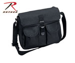 Rothco 2278 Rothco Canvas Ammo Shoulder Bag - Black