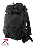 Rothco 2287 Black Medium Transport Pack