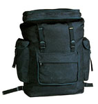 Rothco 2305 Rothco Canvas European Rucksack - Black