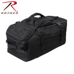 Rothco 23500 Rothco 3 In 1 Convertible Mission Bag - Black