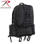 Rothco 23510 Rothco Global Assault Pack- Black