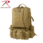 Rothco 23520 Rothco Global Assault Pack- Coyote