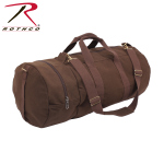 Rothco 2377 Canvas Double Ender Sports Bag - Earth Brown/30''