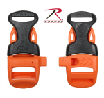 Rothco 238 Whistle Buckle - 5/8'' / Whistleloc - Orange/Blk