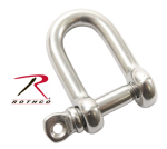 "Rothco 242 Rothco 5/32"" Straight D Shackle With Screw Pin"