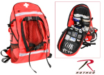 Rothco 2445 Rothco First Aid / Trauma Backpack - Red