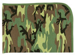 Rothco 2450 Infant Woodland Camo Receiving Blanket