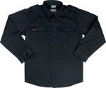 Rothco 2457 Uf Vintage BDU Shirt - Black