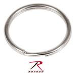 "Rothco 251 1"" Split Ring / Nickel - 50 Pack"