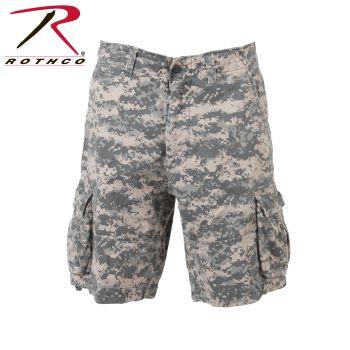 Rothco 2521 2521 Vintage Army Digital Camo Infantry Utility Shorts