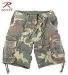 Rothco 2540 Vintage Woodland Infantry Utility Shorts