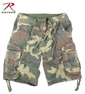 Rothco 2541 2541 Vintage Woodland Infantry Utility Shorts