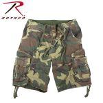 Rothco 2542 2542 Vintage Woodland Infantry Utility Shorts