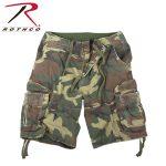Rothco 2543 Rothco Vintage Infantry Shorts - Woodland