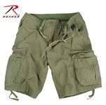 Rothco 2544 Vintage Olive Drab Infantry Utility Shorts