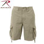 Rothco 2548 2548 Vintage Khaki Infantry Utility Shorts