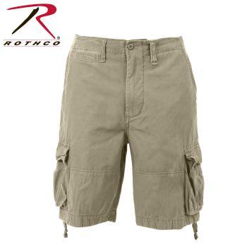 Rothco 2549 2549 Vintage Khaki Infantry Utility Shorts